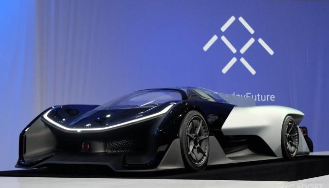 Faraday Future электрокар FFZERO1