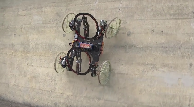 term paper on walking and climbing robots Research paper - download as pdf file (pdf) climbing robots with handrail to assist the elders while walking and moving.