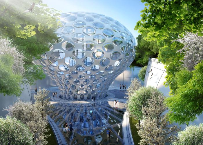 Подводный устойчивый город