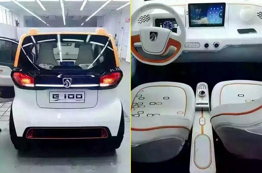 Электрический сити-кар Baojun E100