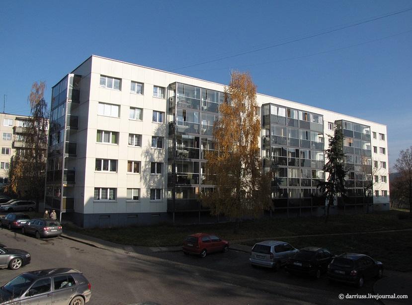 Модернизированная хрущевка в Польше