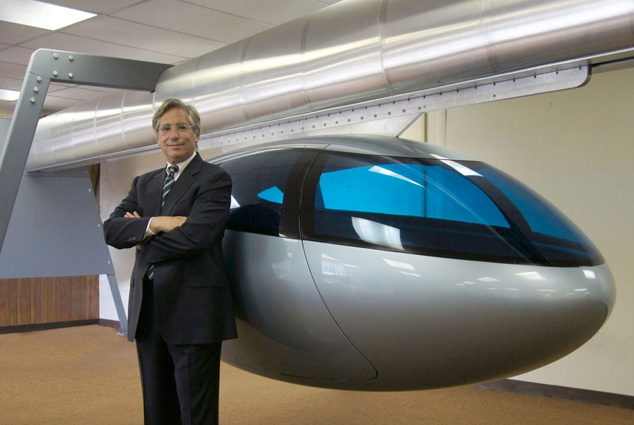 skyTran CEO, Jerry Sanders