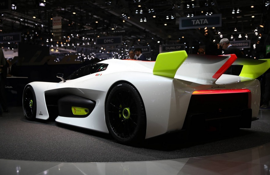 водородный суперкар Pininfarina H2 Speed