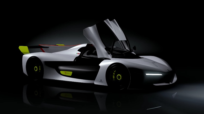 водородный концепткар Pininfarina H2 Speed