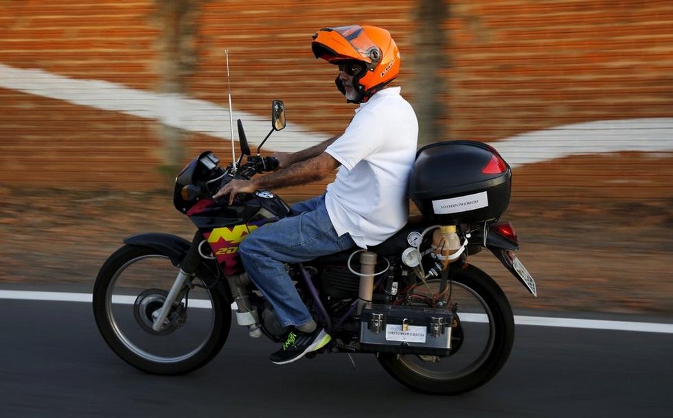 Скутер на водороде своими руками видео