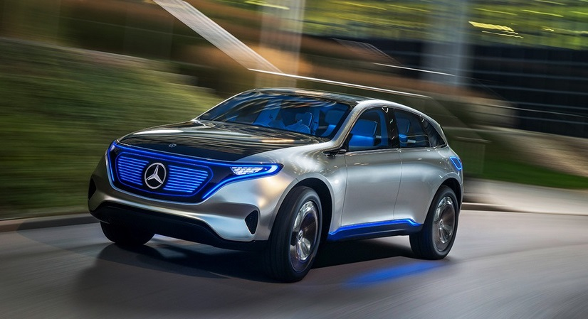 Daimler mercedes eq generation electric car