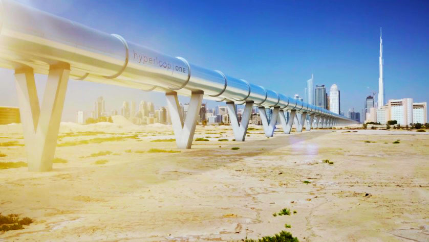 Hyperloop connect Dubai and Abu Dhabi