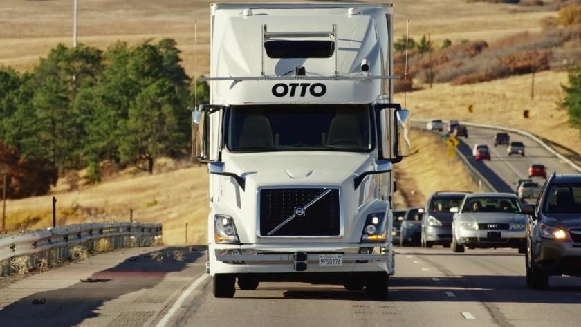Otto беспилотный грузовик