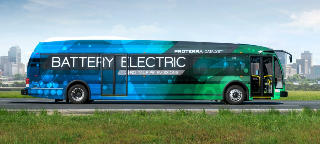 Electric bus Proterra Catalyst E2