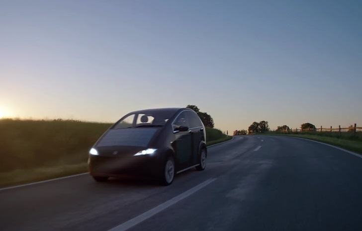 Солнечный автомобиль Sono Motors
