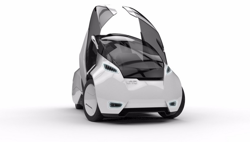 Uniti electric car sweden