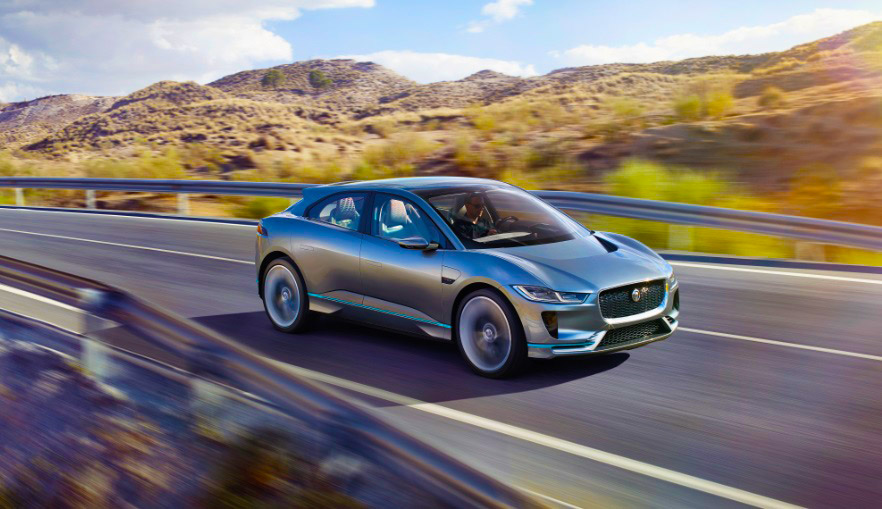 Jaguar's first all-electric SUV I-Pace