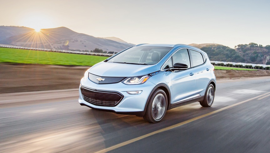 all electric car Chevrolet Bolt EV