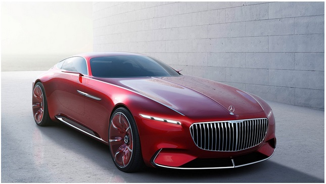 Электромобиль mercedes maybach