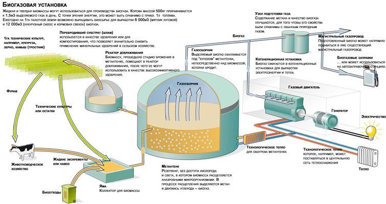 Простейшая биогазовая установка