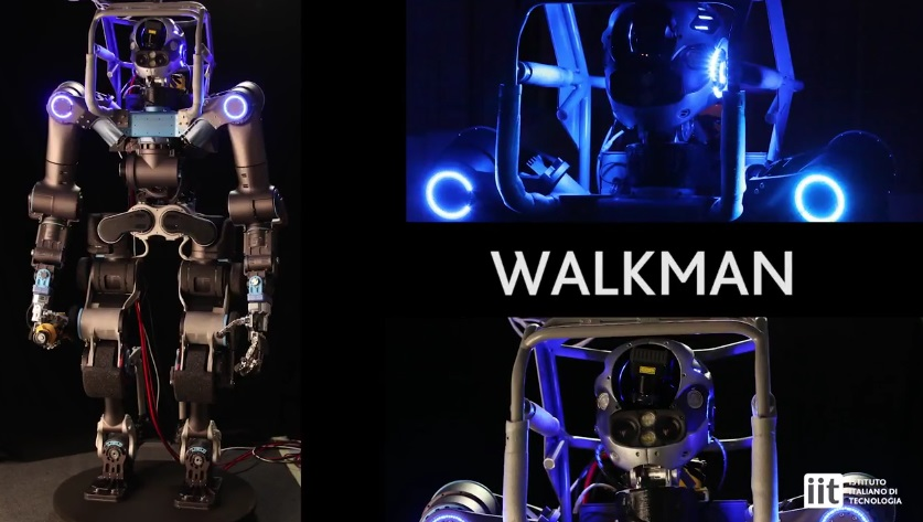 robot Walk man