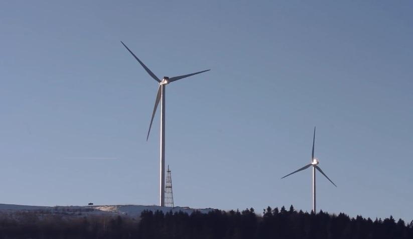 Ветроэлектростанция на Львовщине влилась в единую энергосистему Украины