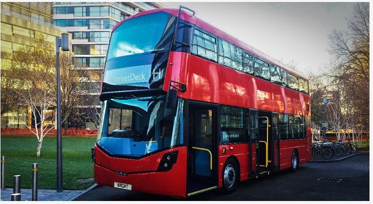 Автобусы Лондона переходят на электротягу и водородные топливные элементы