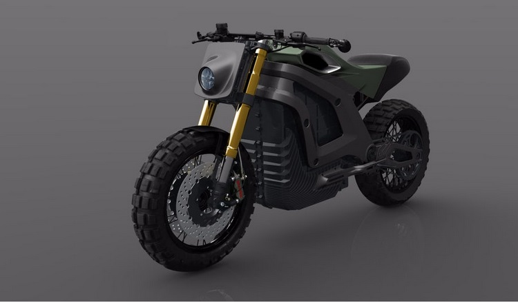 Electric motocycle Locama