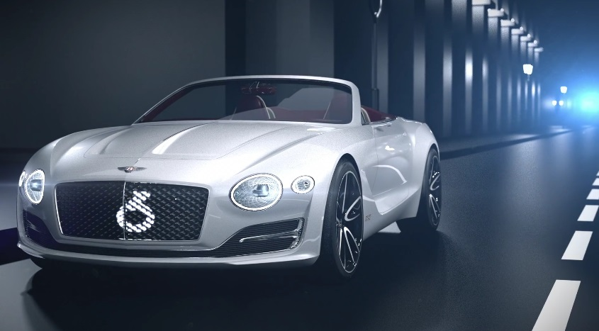 Электромобиль Bentley EXP12 Speed 6e