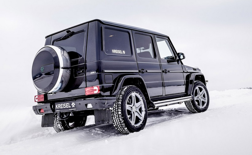 KREISEL and Arnold Schwarzenegger present the Electric G-Class