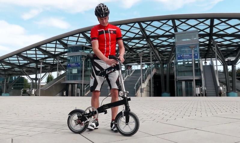 Kwiggle - самый компактный в мире складной велосипед (видео) - ЭкоТехника