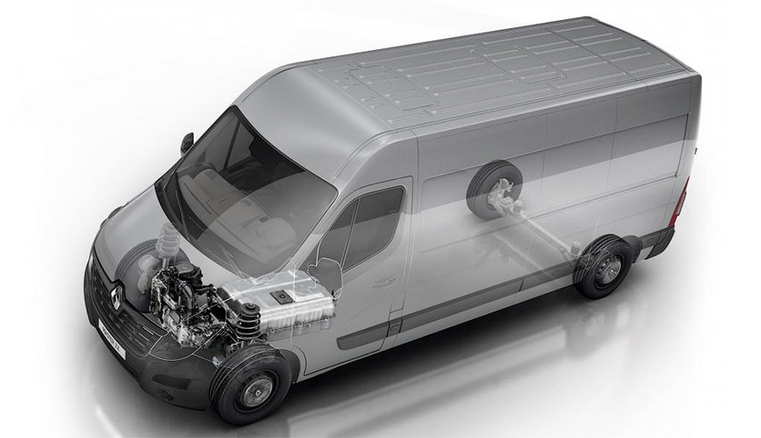 Представлен электрический фургон Renault Master Z.E.