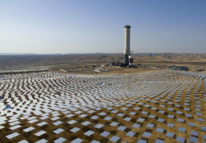 В Израиле построят самую большую солнечную башню