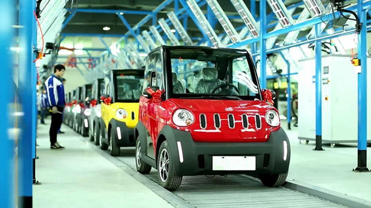 Низкоскоростные электромобили захватывают рынок Китая