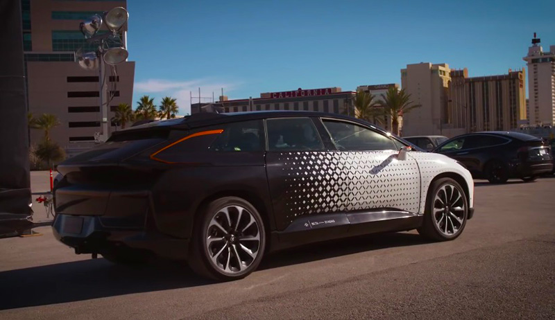 электромобили Faraday Future