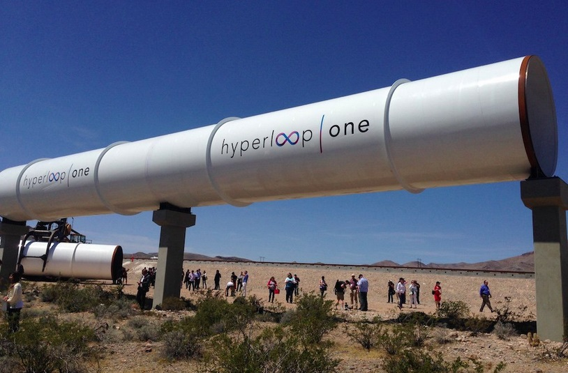 hyperloop в испании
