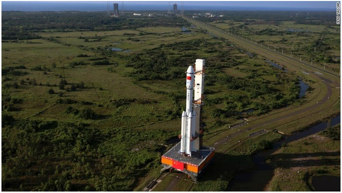 China launches first cargo spacecraft Tianzhou-1
