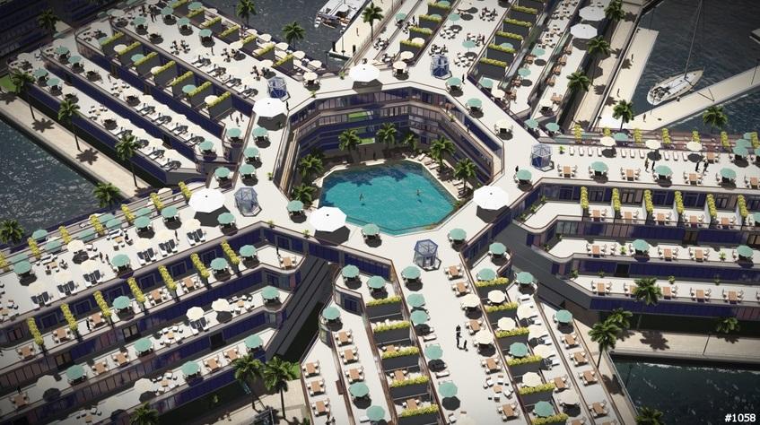 проект плавучего города будущего