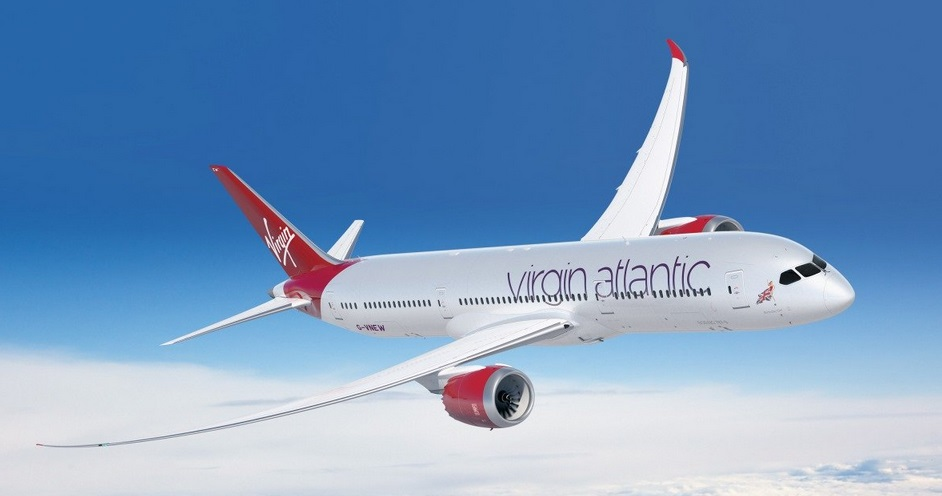Самолет с корпусом из графена Virgin Atlantic