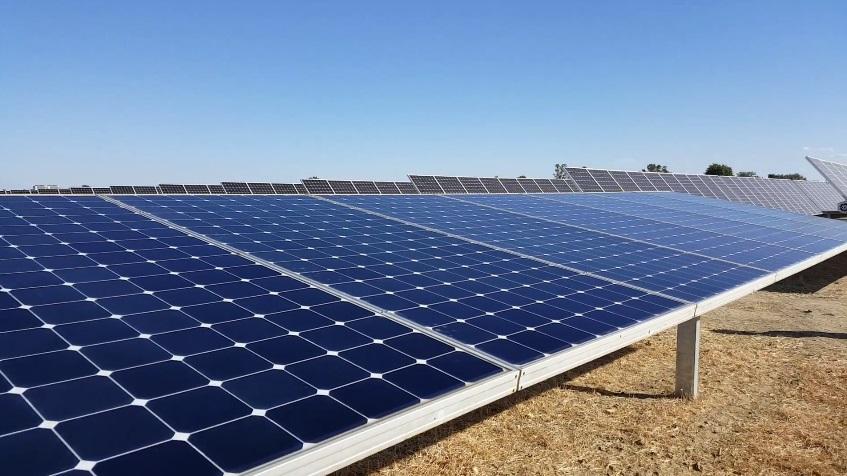 В Кировоградской области строят одну из крупнейших солнечных электростанций в Украине