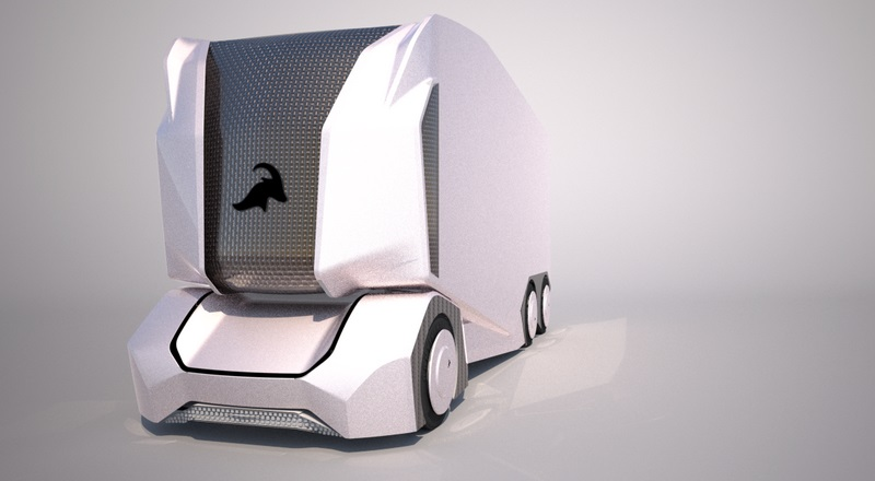 T-Pod automomous electric truck