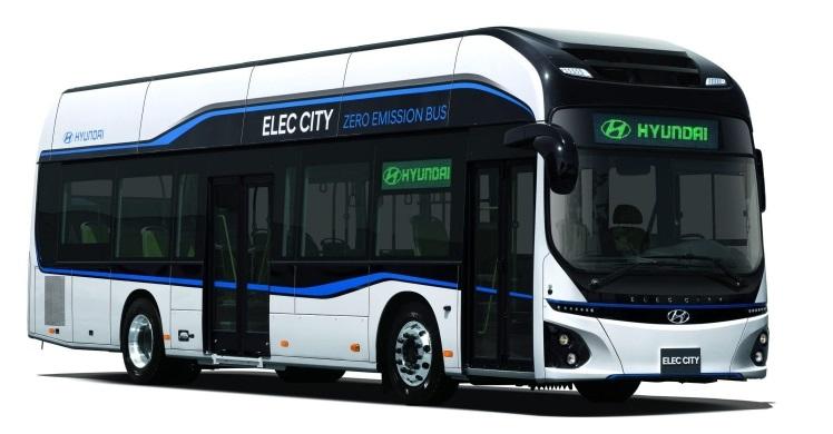 Hyundai показала серийный электробус Elec City с запасом хода 290 км