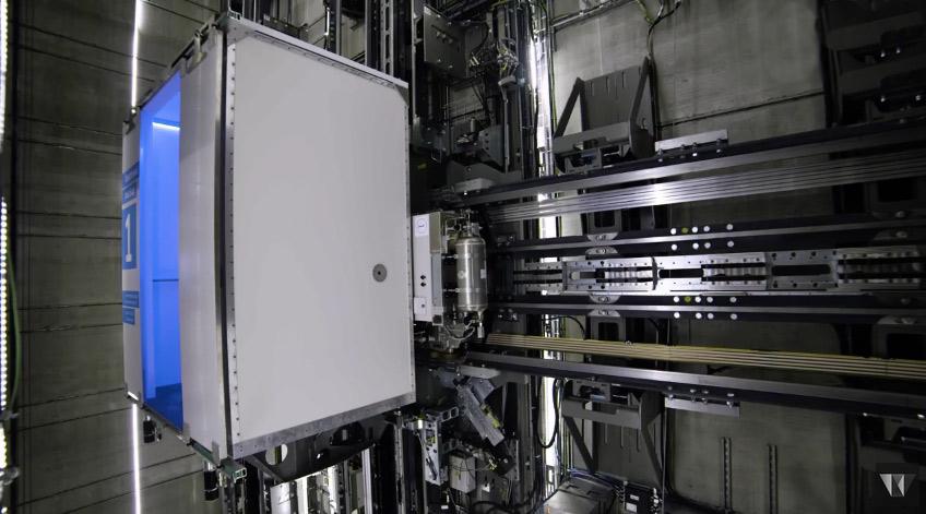 Немецкая компания разработала первый в мире горизонтальный лифт