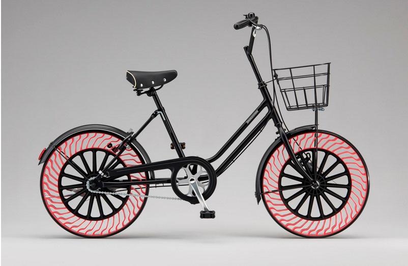 Bridgestone показала новые безвоздушные покрышки для велосипедов