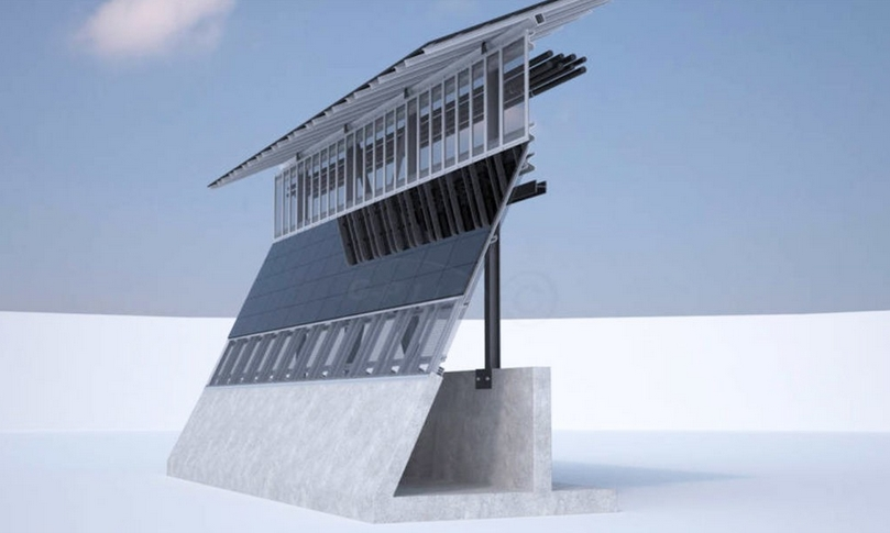 Трамп хочет оборудовать солнечными панелями стену на мексиканской границе