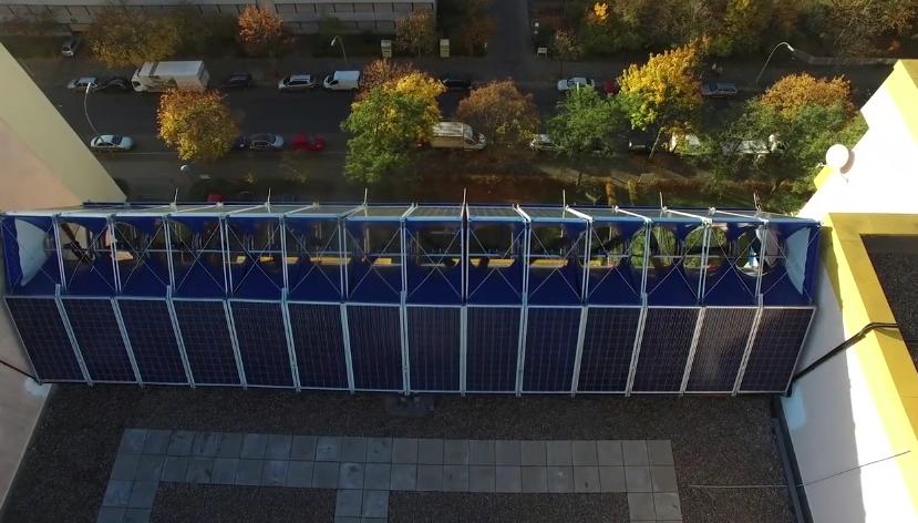 Как скрестить солнечные панели и ветряк для снабжения энергией многоэтажек придумали в Германии