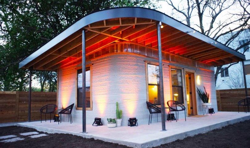 3D-печатный жилой дом