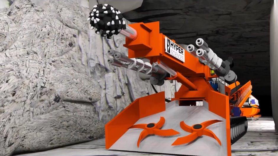 HyperBreaker - Hyper Tunneling Machine