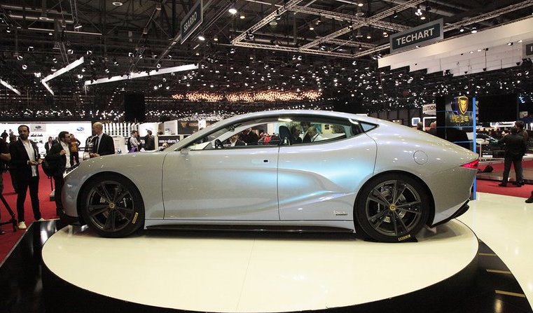 Китайский электромобиль LvChi Venere