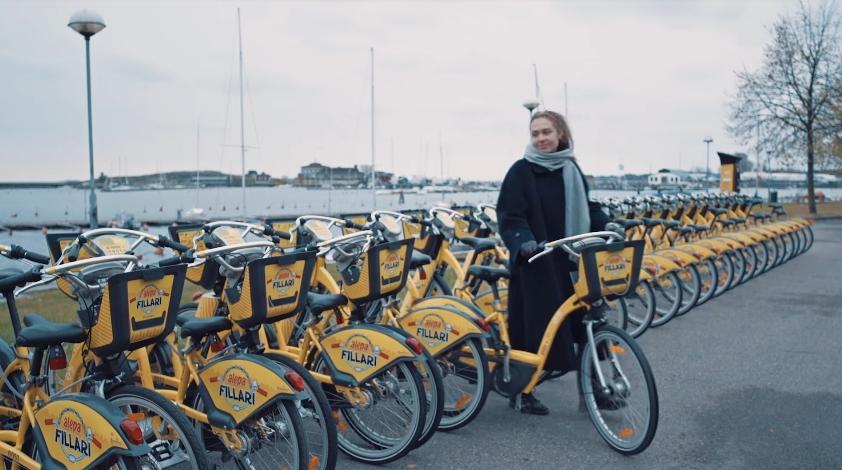 Аренда умных велосипедов