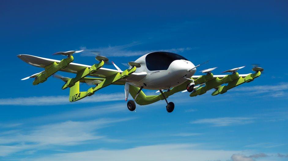 Беспилотное электроическое авиатакси