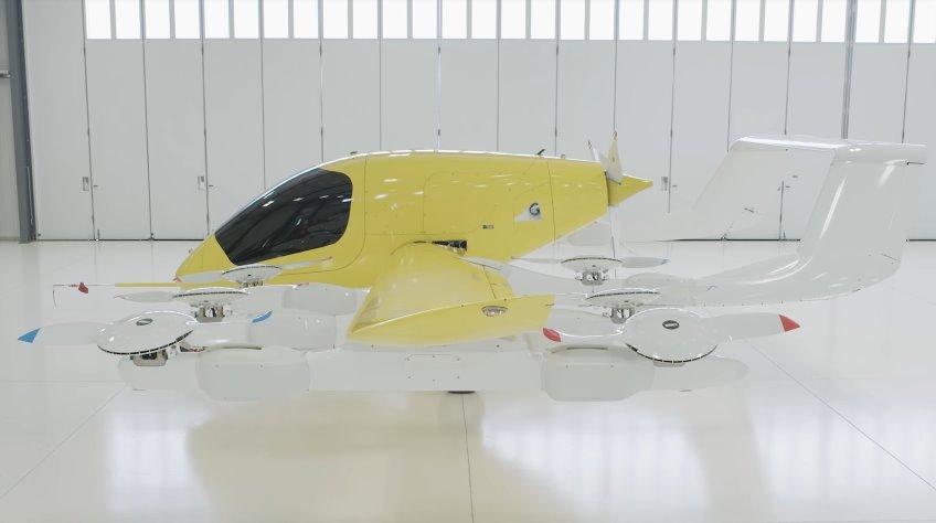 Самоуправляемое аэротакси Кора