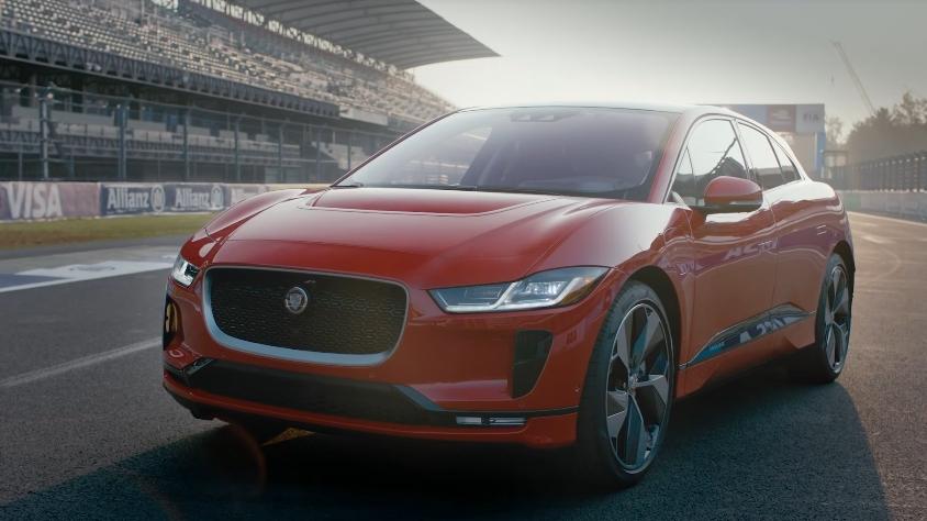 Серийный электромобиль Jaguar I-Pace 2018