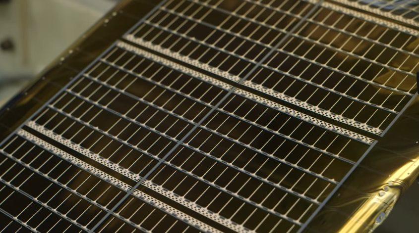 Пленочная солнечная панель