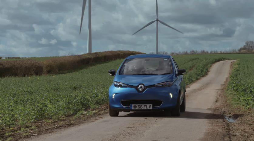 Renault zoe v2g